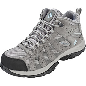 Columbia Redmond XT Mid Waterproof Kengät Naiset, light grey/oxygen